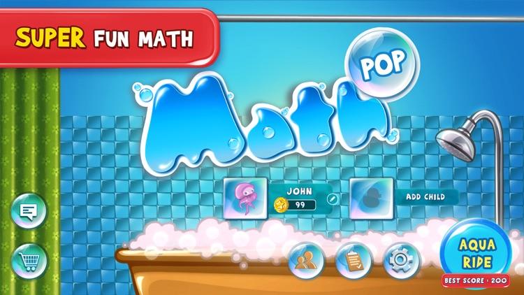 4th Grade Math Pop - Fun math game for kids