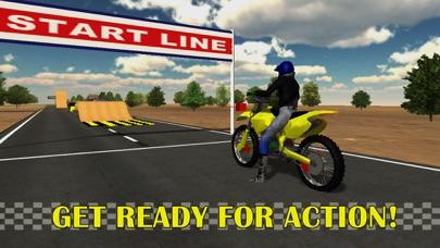 モトスタントバイクシミュレータ3D - 猛烈な高速バイクレースやジャンピングゲーム紹介画像4