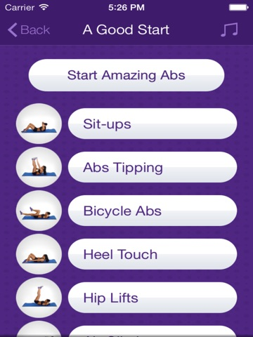 Amazing Abs – Personal Fitness Trainer App – Daily Workout Video Training Program for Flat Belly and Calorie Burn-ipad-3