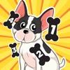 アクティブ! 犬と子供のためのゲーム: カウントを学ぶ 幼稚園のために1月10日の数字
