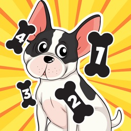 A Dog Counting Game for Children: Learn to count the numbers with dogs