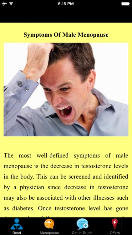 Symptoms Of Male Menopause - Quick Guide screenshot-3