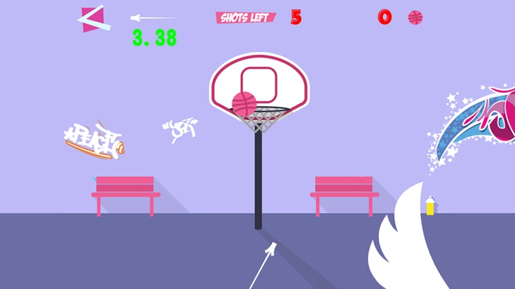 Basketball Flick - Dunk Slam Showdown screenshot-3