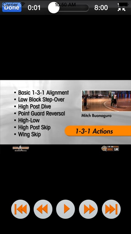 Scoring Against Zones - With Coach Mitch Buonaguro - Full Court Basketball Training Instruction screenshot-3