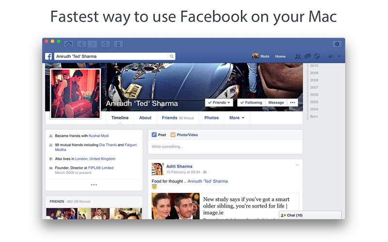 Go for Facebook Screenshot