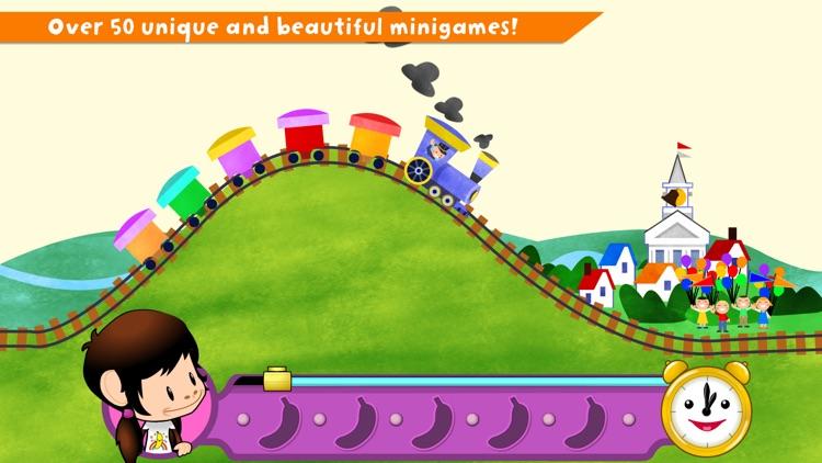 Zuzu's Bananas: A Monkey Preschool Game screenshot-0