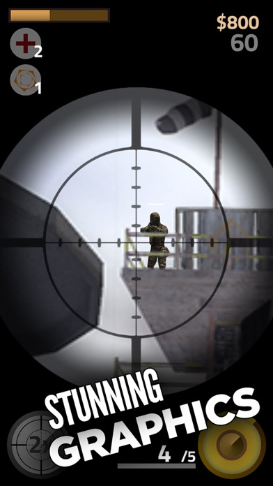 Contract Sniper Killer - Trigger guns and shoot to kill army assassin shooter screenshot two