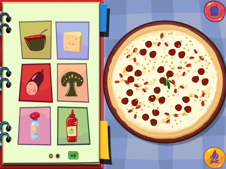 Pizza Maker Game - Fun Cooking Games HD screenshot-3