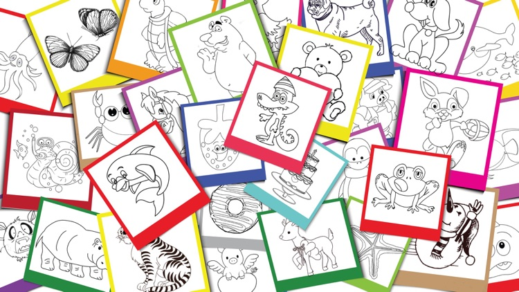 My Favor Coloring Book Games: Free For Kids & Toddlers!