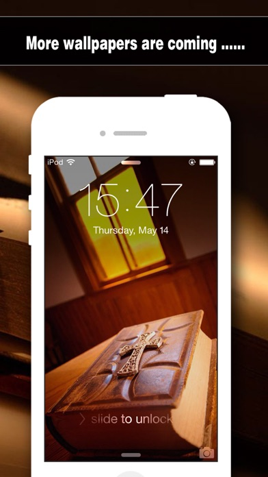 Bible Wallpapers HD - Backgrounds & Lock Screen Maker with Holy Retina Themes for iOS8 & iPhone6 Screenshot