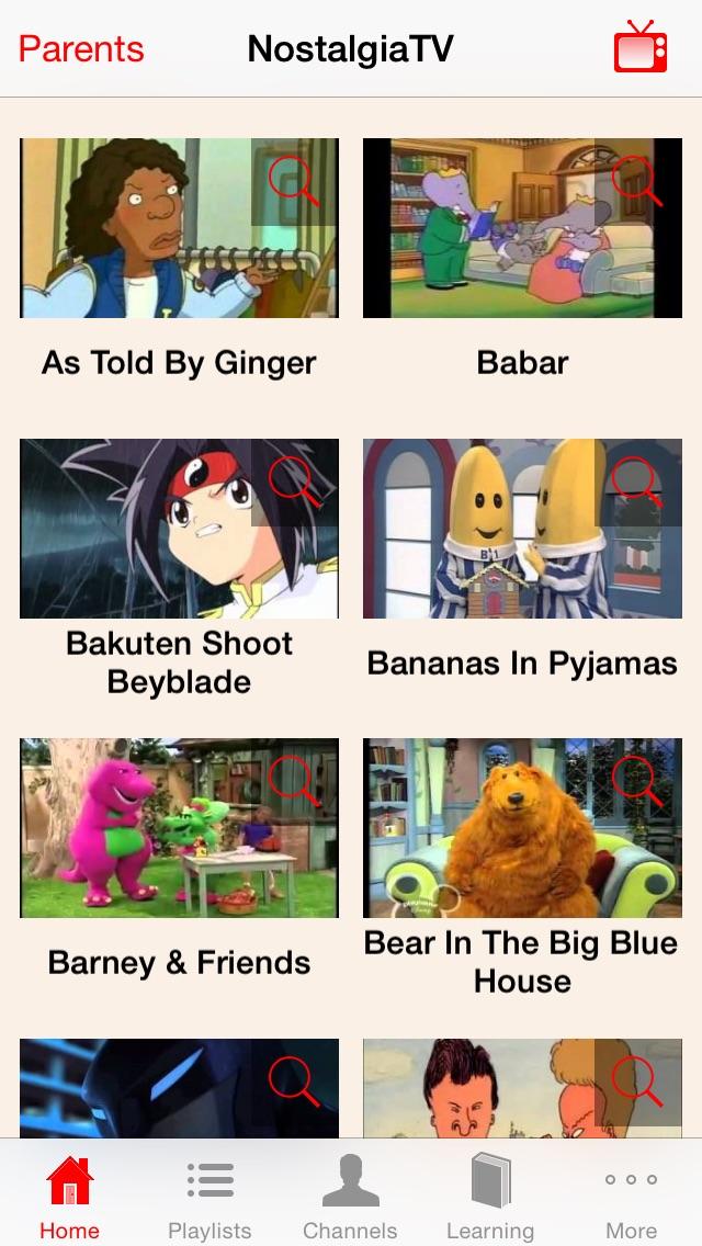 NostalgiaTV - Top Nostalgia Kids TV (90s) Screenshot