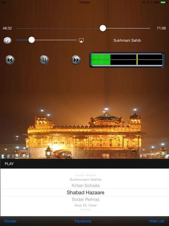 Audio Nitnem for iPad