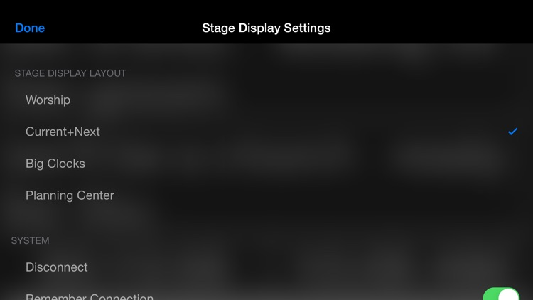 ProPresenter Stage Display screenshot-2