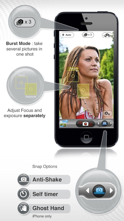 PicItEasy – Burst Camera with Timer, Stabilizer and Anti-Shake