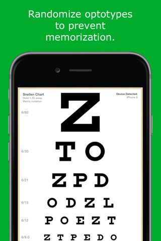 EyeChart - Vision Screening - náhled