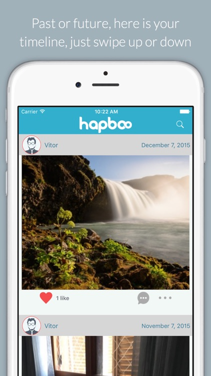 HapBoo - Send messages to the future