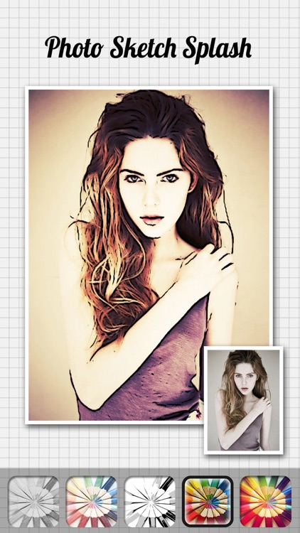 Photo Sketch Splash - My Pencil Drawing with Portrait Filter Effects screenshot-3