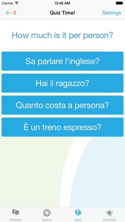 Italian Phrasebook - Travel in Italy with ease screenshot-3