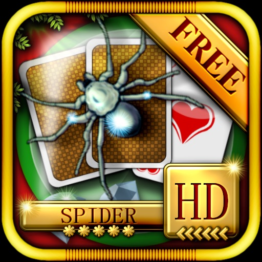 ACC Solitaire [ Spider ] HD Free - Classic Card Games for iPad & iPhone