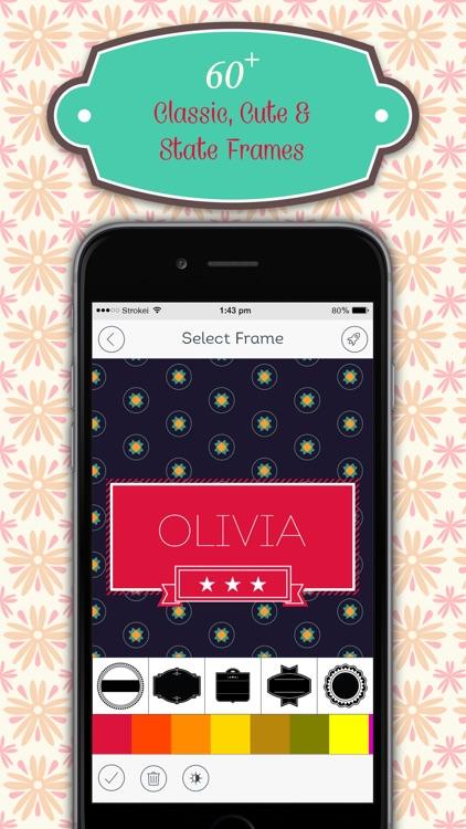 Monogram HD Wallpaper & Lock Screen Creator Pro screenshot-3