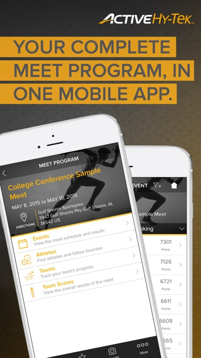 Track Meet Mobile — View Track and Field Event Information, Athletes, Results, and Times app image