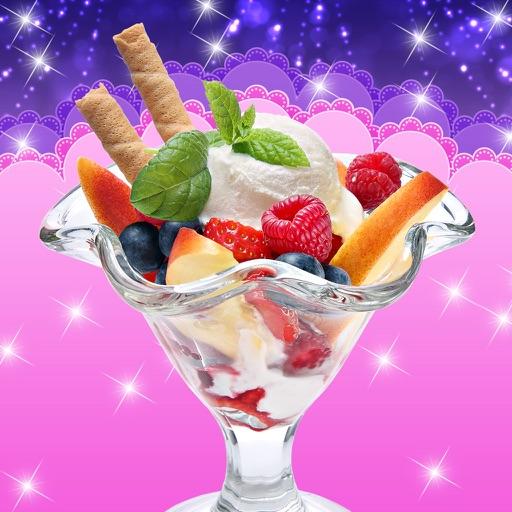 Dessert Ice Cream Kitchen Food Maker Game