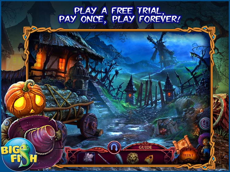 League of Light: Wicked Harvest HD - A Spooky Hidden Object Game screenshot-0