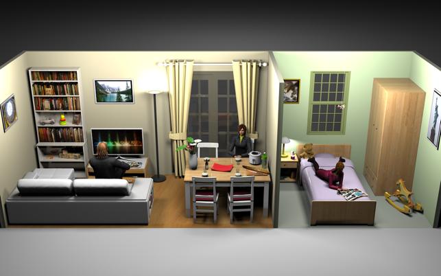 Sweet home 3d in de mac app store for Ontwerpprogramma huis