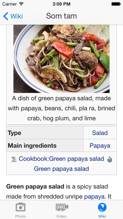 Thai Food & Recipes screenshot-4
