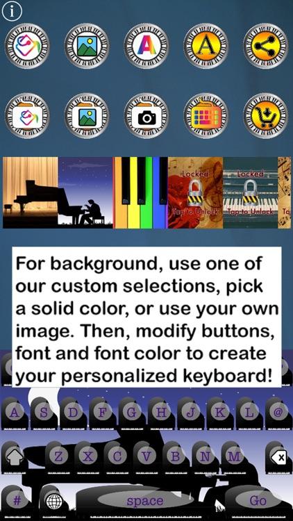 Piano Keys Custom Keyboard screenshot-3