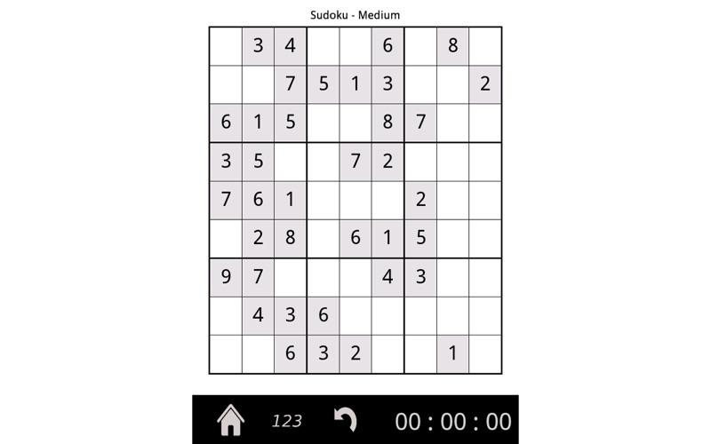 Sudoku 9x9 Screenshot