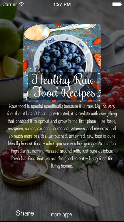 Healthy Raw Food Recipes