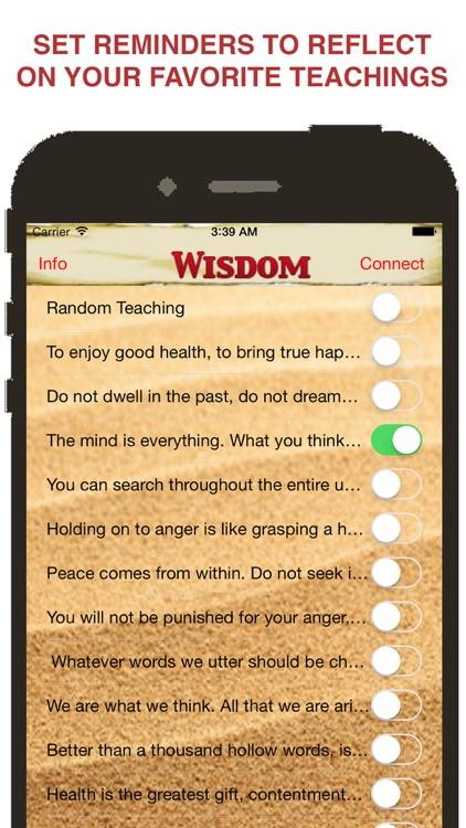 Ask Buddha with Daily Teachings™ screenshot-3