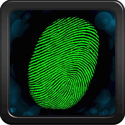 Password Fingerprint Safety icon