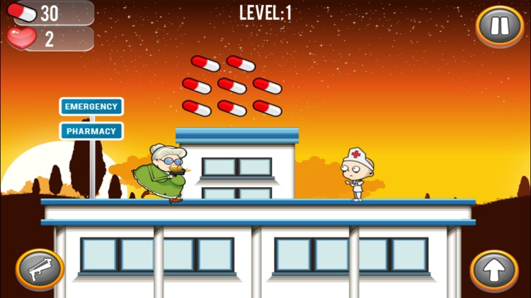 Angry Grandma Run Games:Crazy - The most fun games for the bad grandma in you! screenshot-3