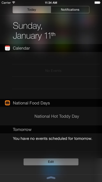 National Food Days