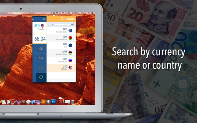 Currency Converter: Convert the world's major currencies with the most updated exchange rates Screenshot