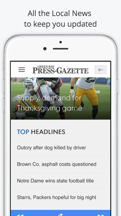 Green Bay GameDay Live Radio – Packers & Bucks Edition screenshot-4