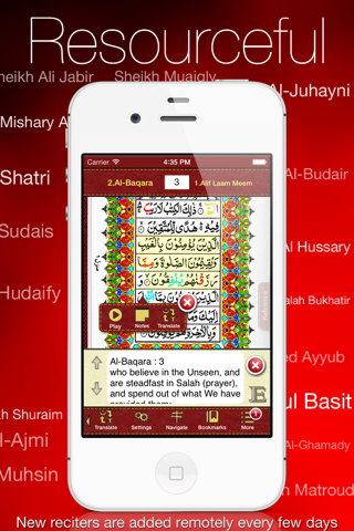 Tajweed Quran Urdu/Persian for iPhone and iPod screenshot 1