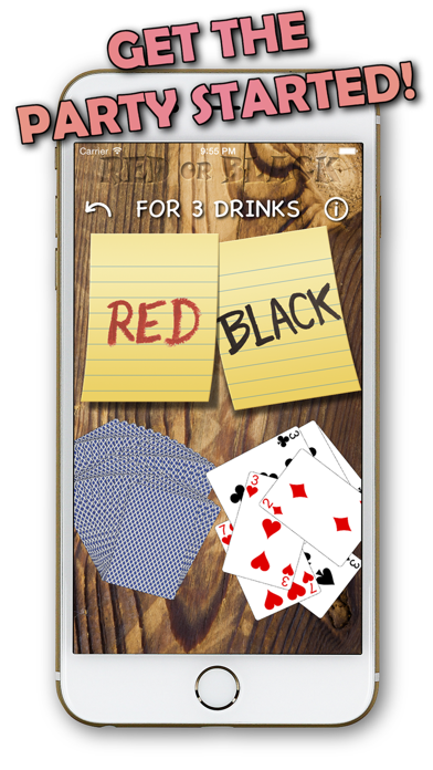 Red or Black - Drinking Game