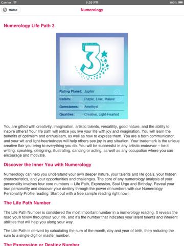 Numerology Horoscope   App Price Drops