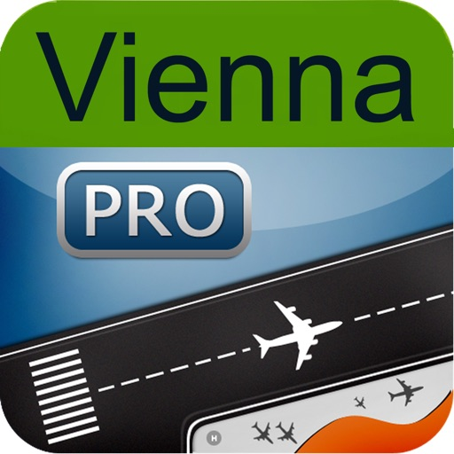 Vienna Airport + Flight Tracker Austrian VIE airlines