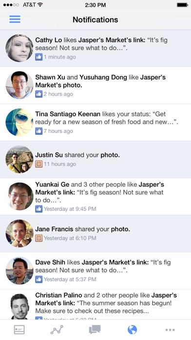 Facebook Pages Manager: Todo lo que puedes hacer con el desde el iPad Facebook pages manager facebook Administrador de paginas
