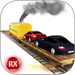 Car Transporter Cargo Train - 3D Realistic Rapid Vehicle Transport & Heavy Freight Simulator