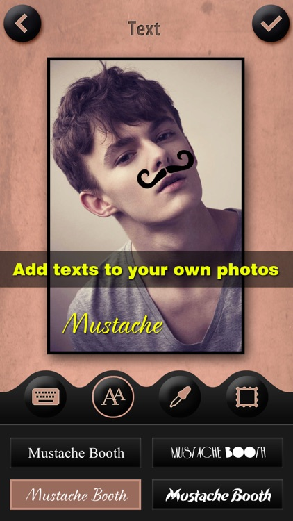 Mustache Booth Pro - Photo Editor + Sticker Maker: Grow & Morph a Hilarious Beard on Yr Face screenshot-3