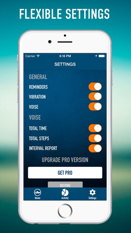 Pedometer Pro - GPS Walking, Steps Tracking, Workout Training screenshot-3