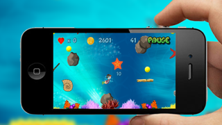 Underwater Treasure Diving Maze screenshot two