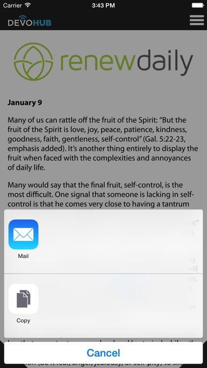 DevoHub: Daily Devotions screenshot-3