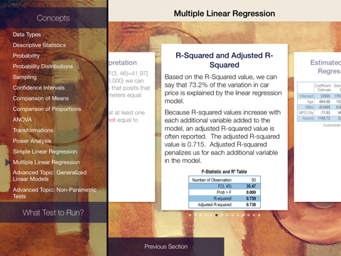 stats! Statistics Learning and Decision Tool   App Price Drops
