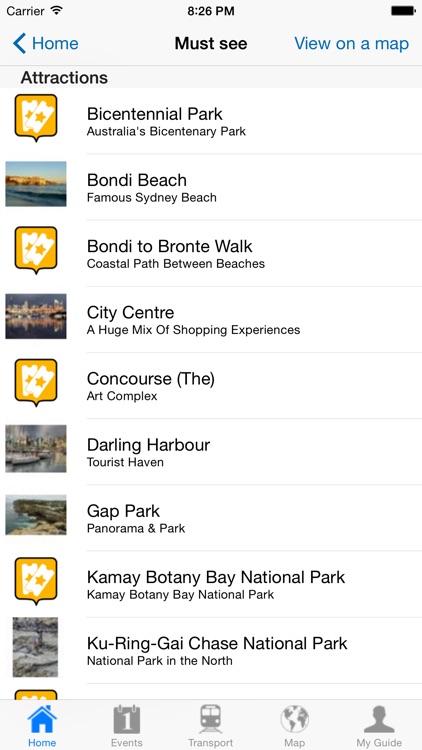Sydney Travel Guide Offline screenshot-3